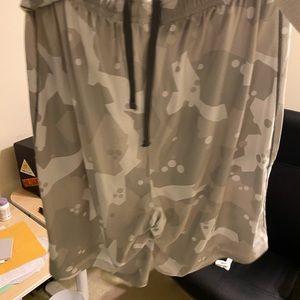 Camo Under Armour shorts